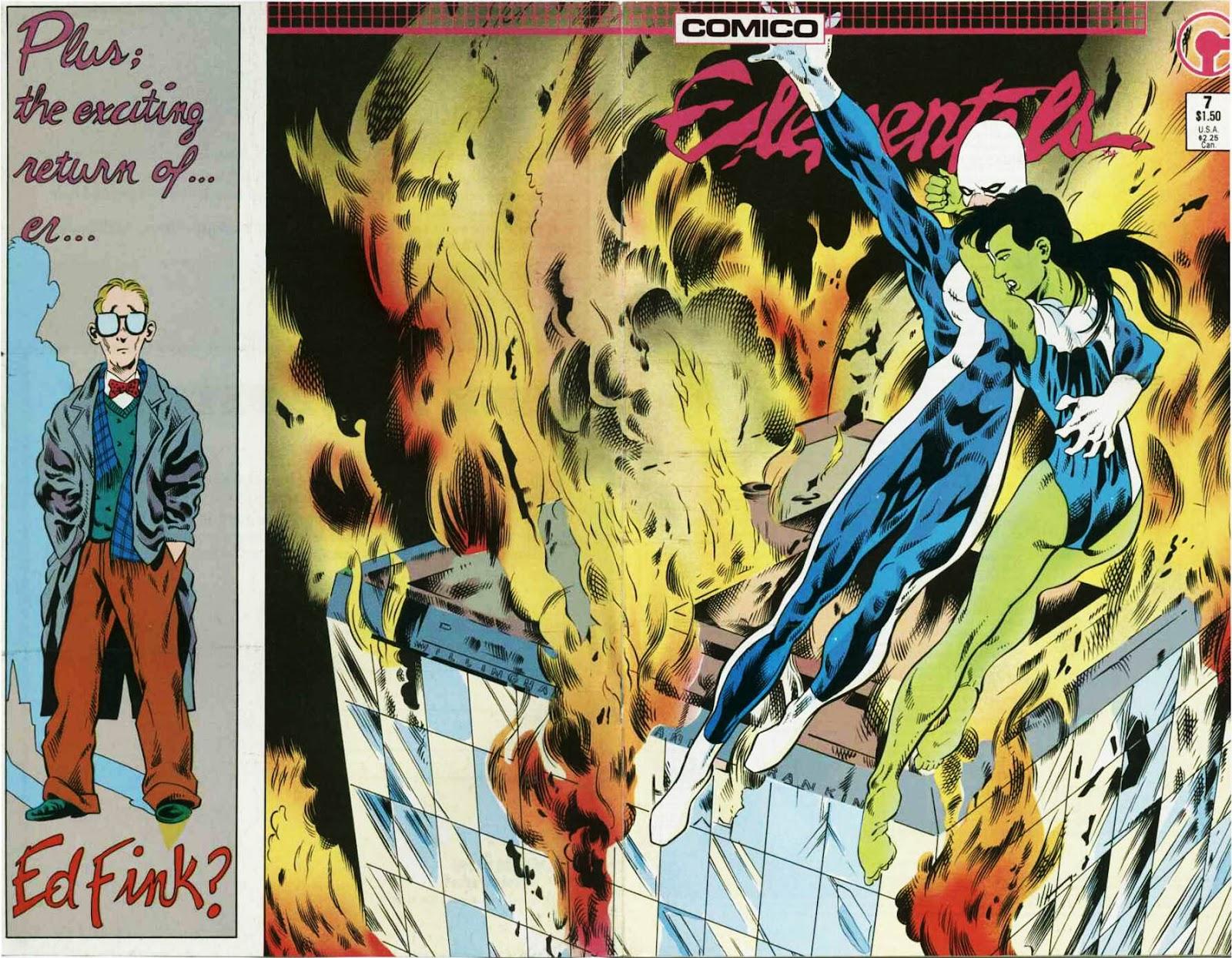 Elementals (1984) issue 7 - Page 1