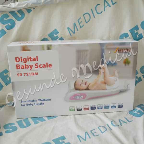 digital baby scale serenity