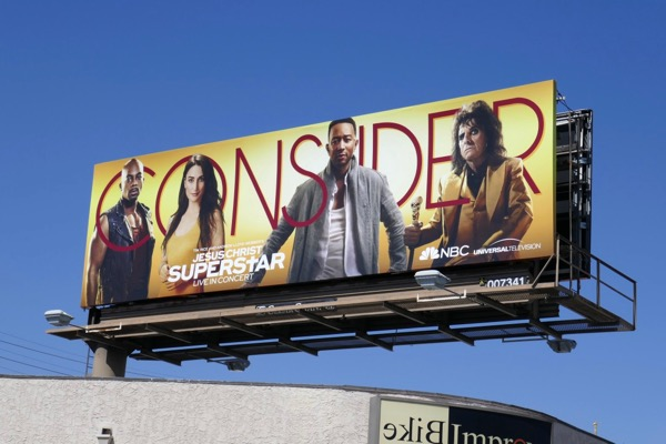 Jesus Christ Superstar 2018 Emmy FYC billboard