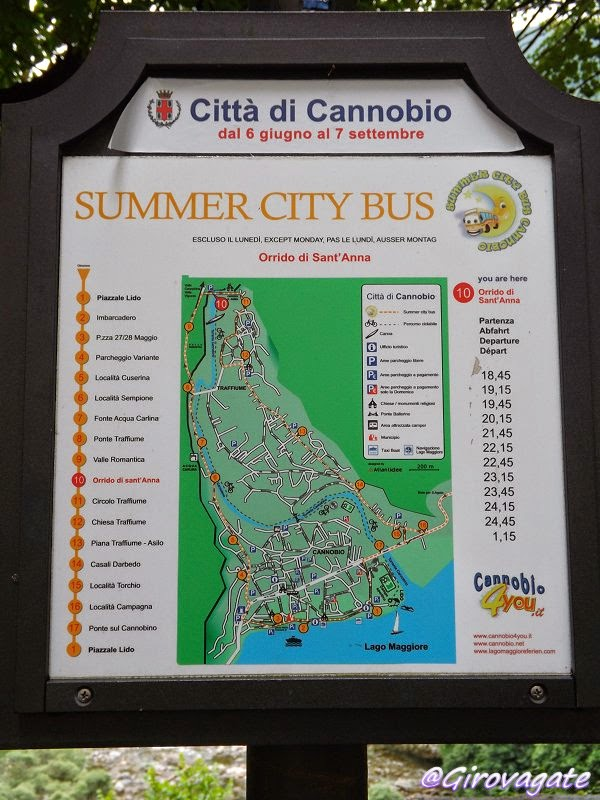 summer city bus val cannobina