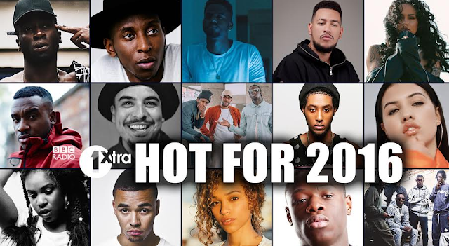 BBC RADIO 1XTRA HOT FOR 2016