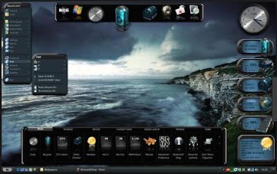 برنامج, متطور, لتغيير, وتحويل, شكل, سطح, المكتب, وتزيين, الايقونات, Winstep ,Nexus