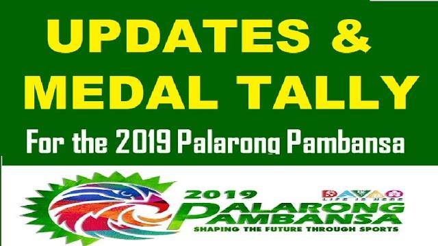 Palarong Pambansa 2019: Updates & Medal Tally