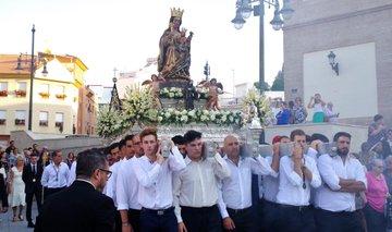 La Victoria de Málaga regresa a la Catedral para presidir la Novena en su honor
