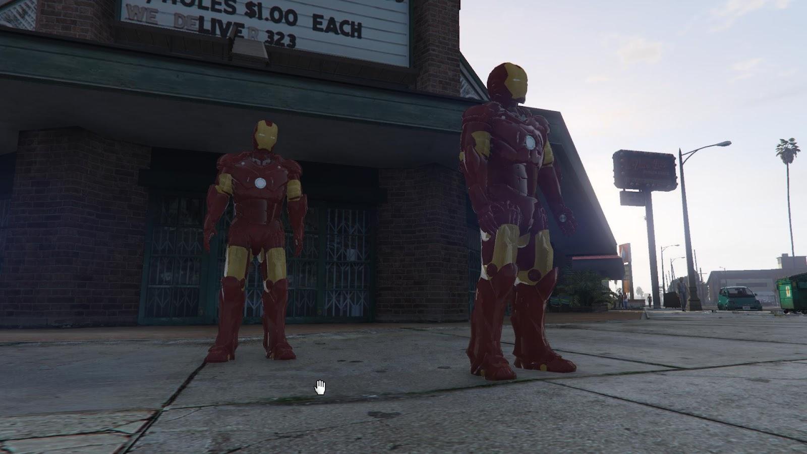 GTA X Scripting: GTA V - Ironman Mark III armor release and
