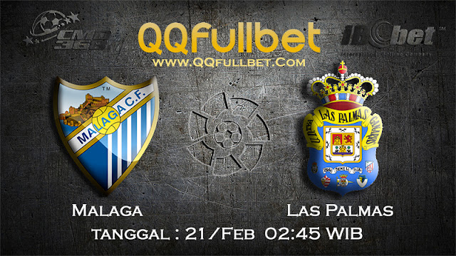 PREDIKSIBOLA - PREDIKSI TARUHAN MALAGA VS LAS PALMAS 21 FEBRUARY 2017 (LA LIGA SPANYOL)
