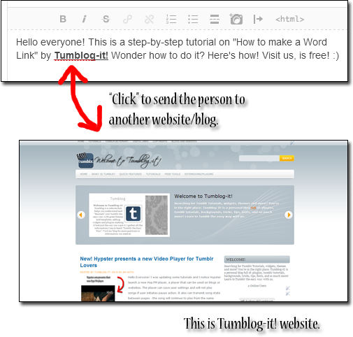 intotheeyesoflove: #2 Tutorial: How to add a Word Link on