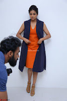 Priyamani in Beautiful Short Deep neck Orange Dress ~  Exclusive 53.JPG