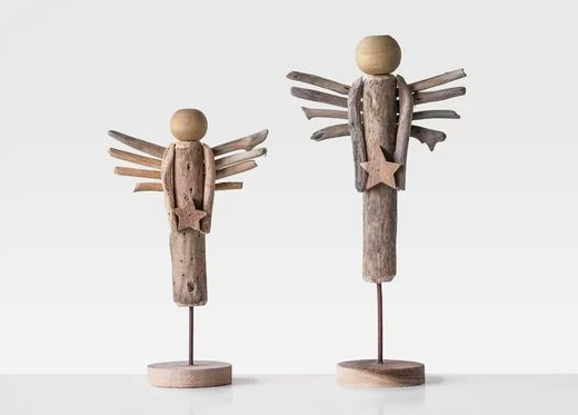 Driftwood Christmas Angels