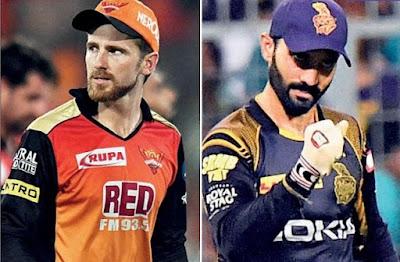 IPL 2018 Eliminator : Kolkata Knight Riders vs Sunrises Hyderabad