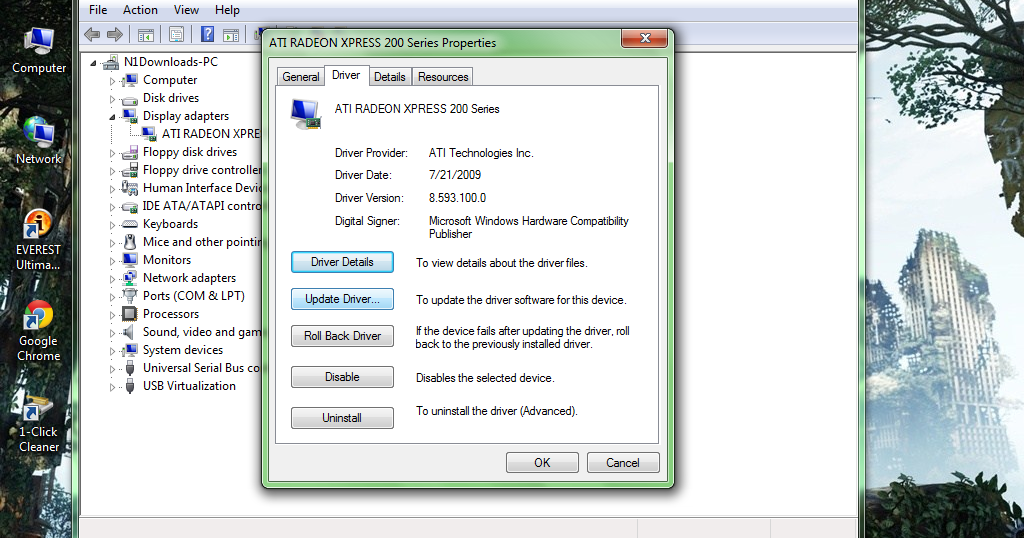 Ati Radeon Xpress 200 Driver Fix For Windows 7 ~ Windows 7 Solved