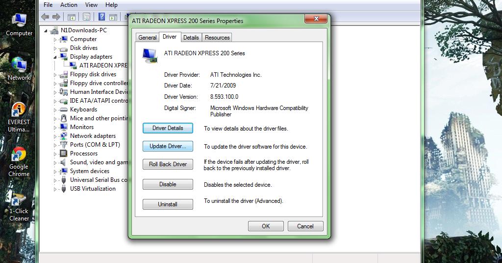 Ati Radeon Xpress 200 Driver Fix For Windows 7 ~ Windows 7