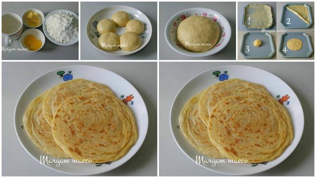 INILAH Resep Roti Maryam Irit tapi Tetap Enak! Modal 7Ribuan saja Hanya Menggunakan 3 Bahan!!