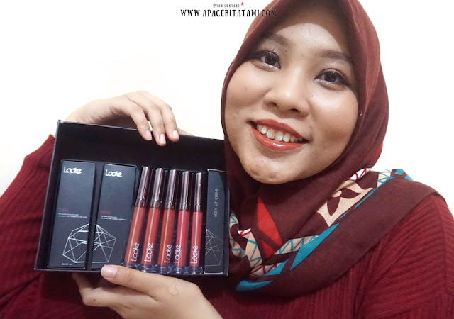 Review Looke Cosmetics Holy Lip Series-Tami Oktari