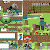 Minecraft Party: Free Printables Candy Bar Labels.