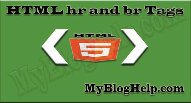 html-hr-br-tags