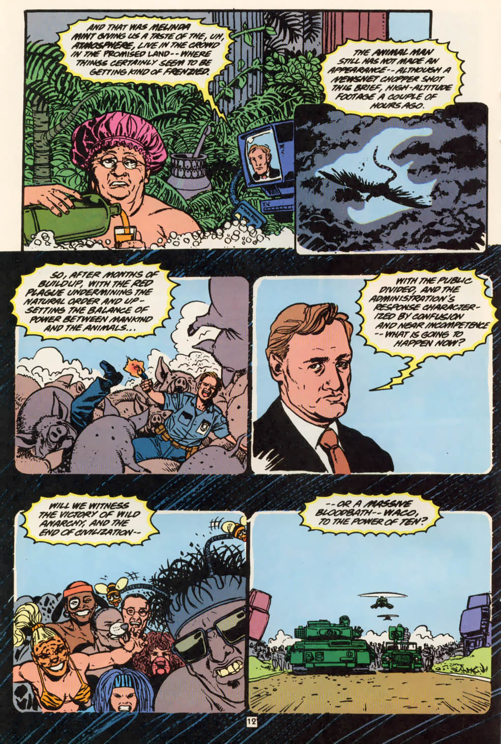 Read online Animal Man (1988) comic -  Issue #79 - 12