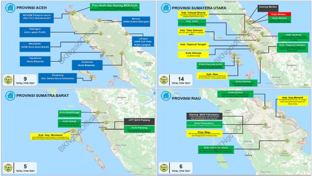 Sebaran Titik Alamat Lokasi Tes SKD CPNS Tahun 2018 Se-Indonesia