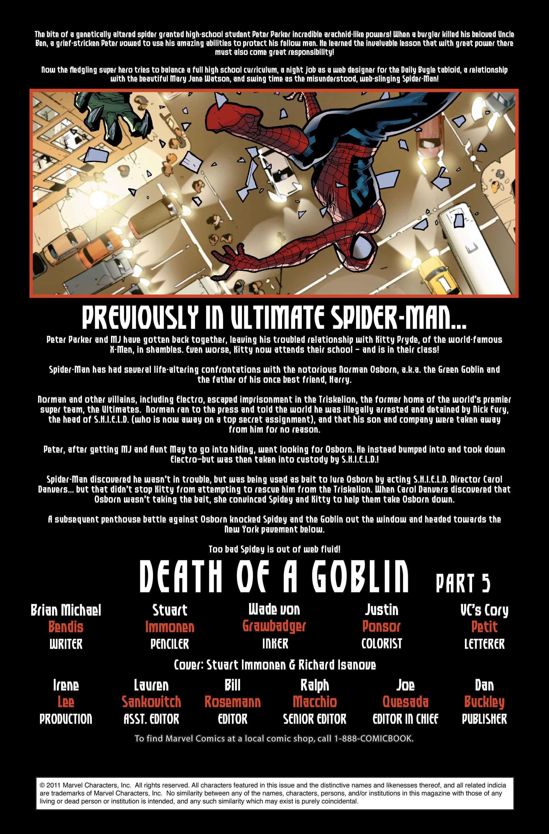 Read online Ultimate Spider-Man (2000) comic -  Issue #116 - 2