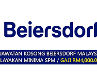 Jawatan Kosong di Beiersdorf Malaysia - Minima SPM / Gaji RM4,000.00++
