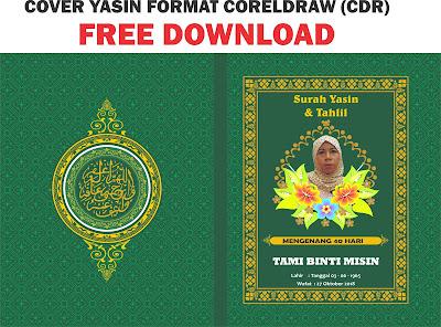 download-desain-cover-yasin-hijau-format-coreldraw