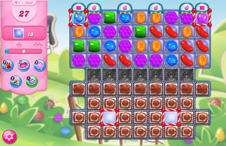 Candy Crush Saga level 7042