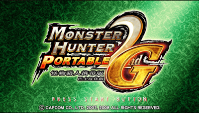 【PSP】怪物獵人攜帶版2g中文版(Monster Hunter Portable 2nd G)!