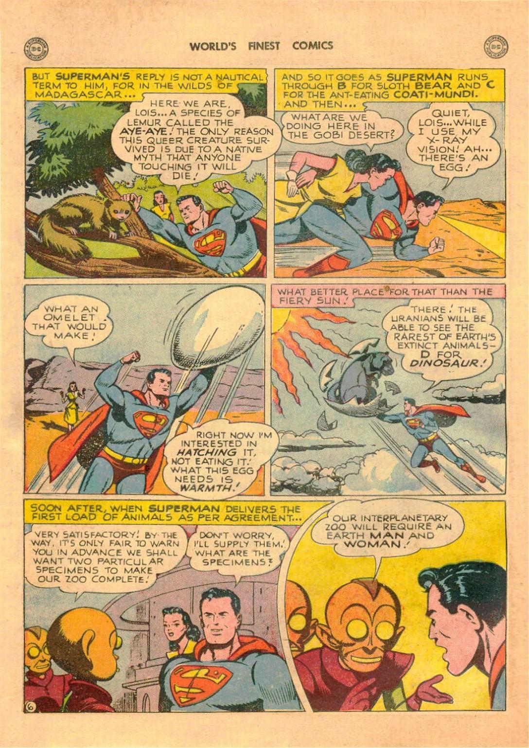 Read online World's Finest Comics comic -  Issue #42 - 8