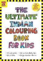 Books: The Ultimate Indian Colouring Book for Kids by Dhanashri Ubhayakar, Shikha Lal & Preeti Vyas (Age: 5 to 10 Years)