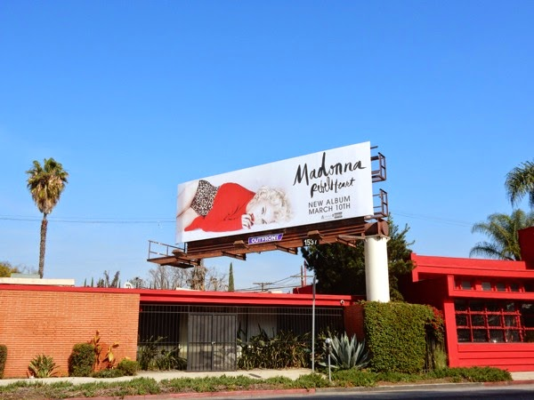 Madonna Rebel Heart billboard