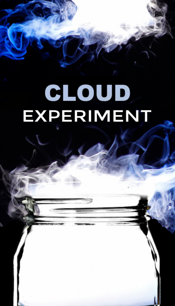 Make a cloud inside of a jar!  This science experiment for kids is just too cool, allowing you to make a REAL cloud just like the ones in the sky! #cloudinajar #cloudinajarexperiment #cloudexperimentsforkids #cloudexperiment #weatheractivities #weatherexperimentsforkids #scienceexperimentskids #growingajeweledrose