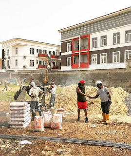 Paul Okoye building new mansion in Lagos