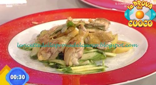 Insalata di galletto e verdure ricetta Marsetti da Prova del Cuoco