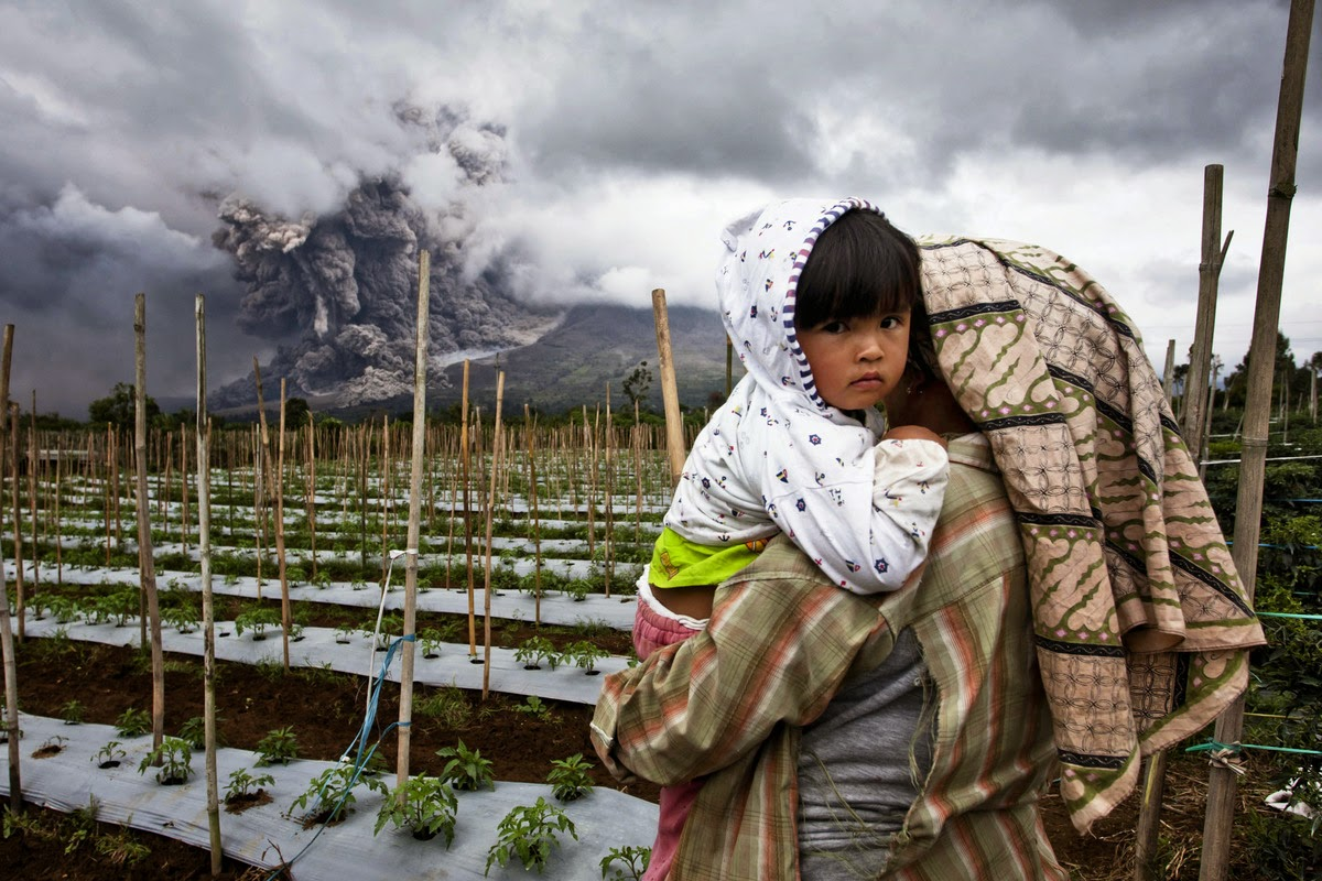 Saat Negara membiarkan Pengungsi Sinabung Berkabung