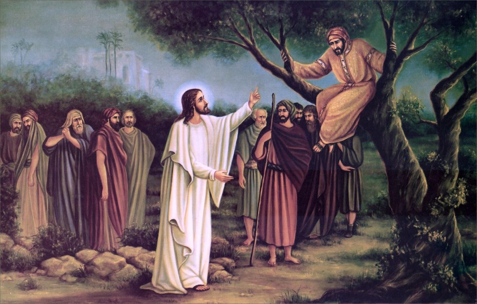 clipart jesus and zacchaeus - photo #27