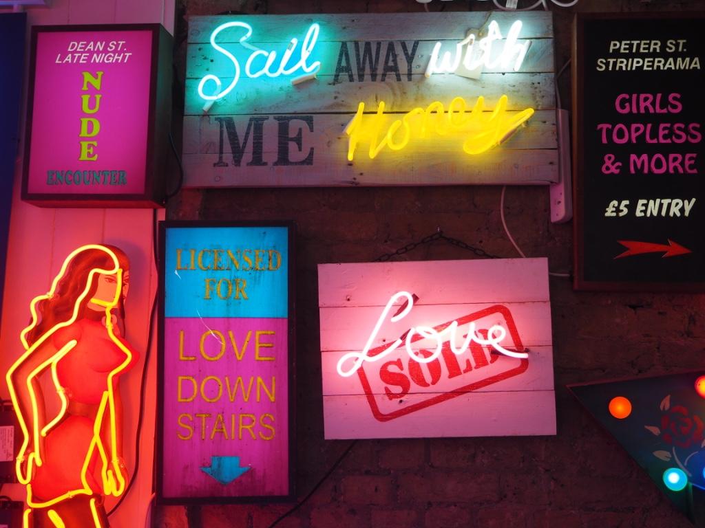 neon signs soho