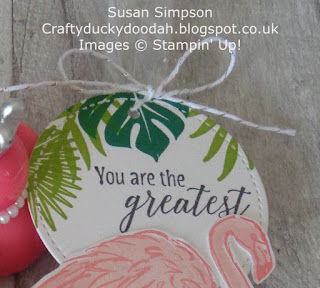 Craftyduckydoodah!, Tropical Chic, Perennial Birthday, Supplies available 24/7 from my online store, Stampin' Up! UK Independent  Demonstrator Susan Simpson, July 2018 Coffee & Cards Project, #lovemyjob,