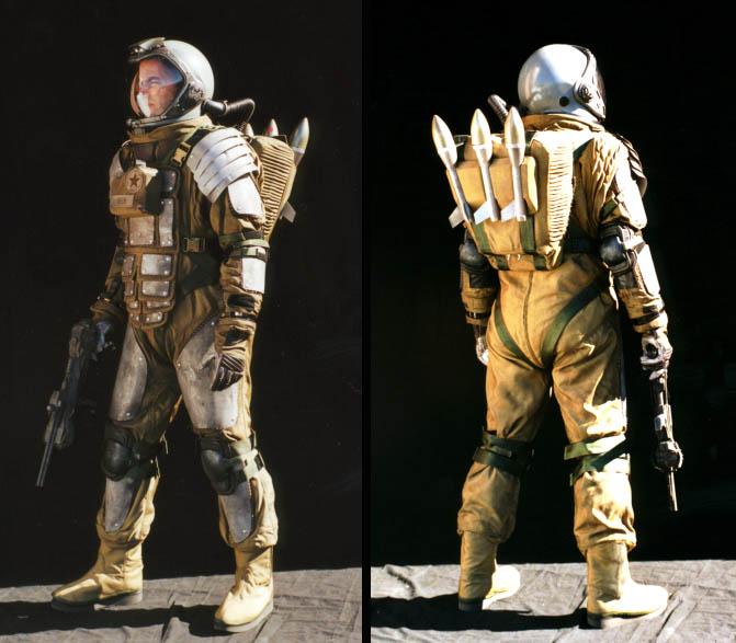 Pandora Machine Blog: Et More Spacesuits