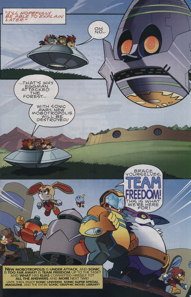 Read online Sonic The Hedgehog comic -  Issue #239 - 31