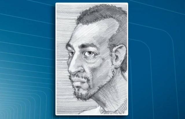 Polícia divulga retrato falado de suspeito de ataques com seringa