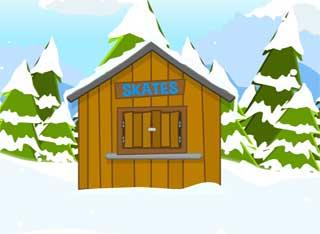 Juegos de Escape - Snowy Frostman Escape