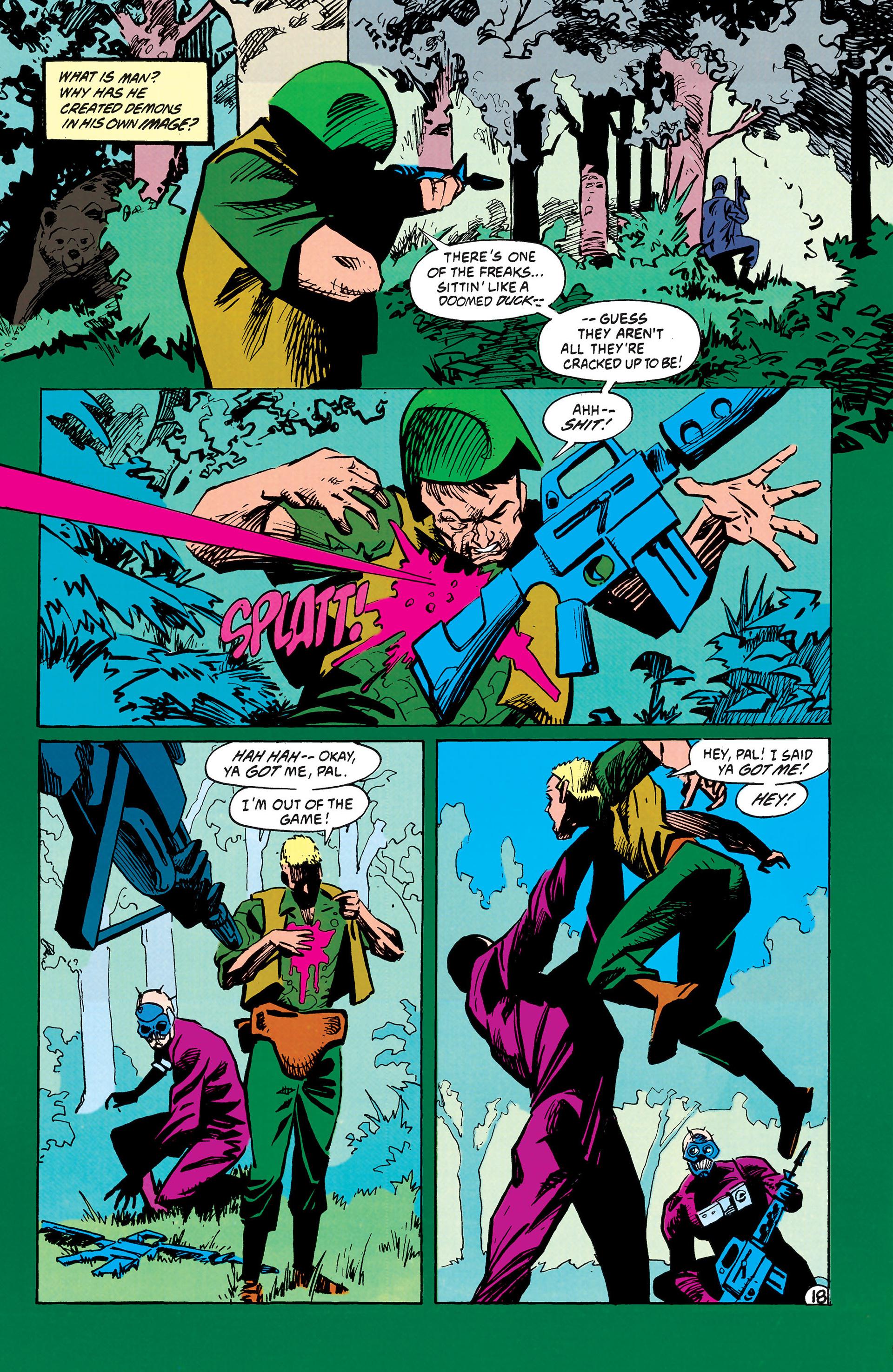 Read online Animal Man (1988) comic -  Issue #42 - 19