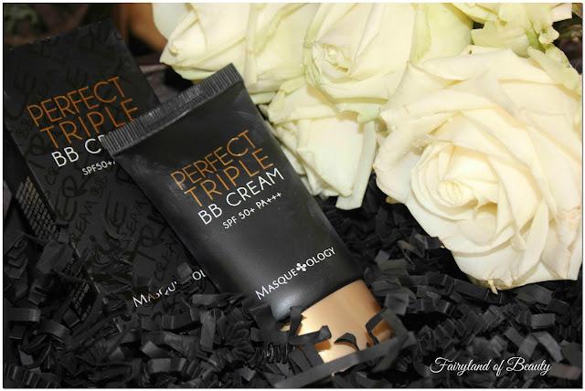 Отзыв: Многофункциональный ВВ-крем с солнцезащитным фильтром SPF 50+ PA+++ - Masqueology  Perfect Triple BB-Cream.