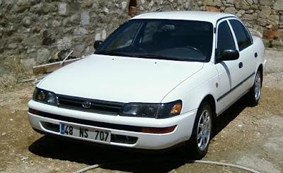 LFS Toyota Coralla Araba Yaması İndir