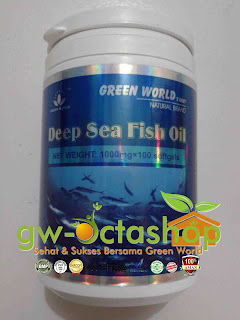 Green World Deep Sea Fish Oil Softgel