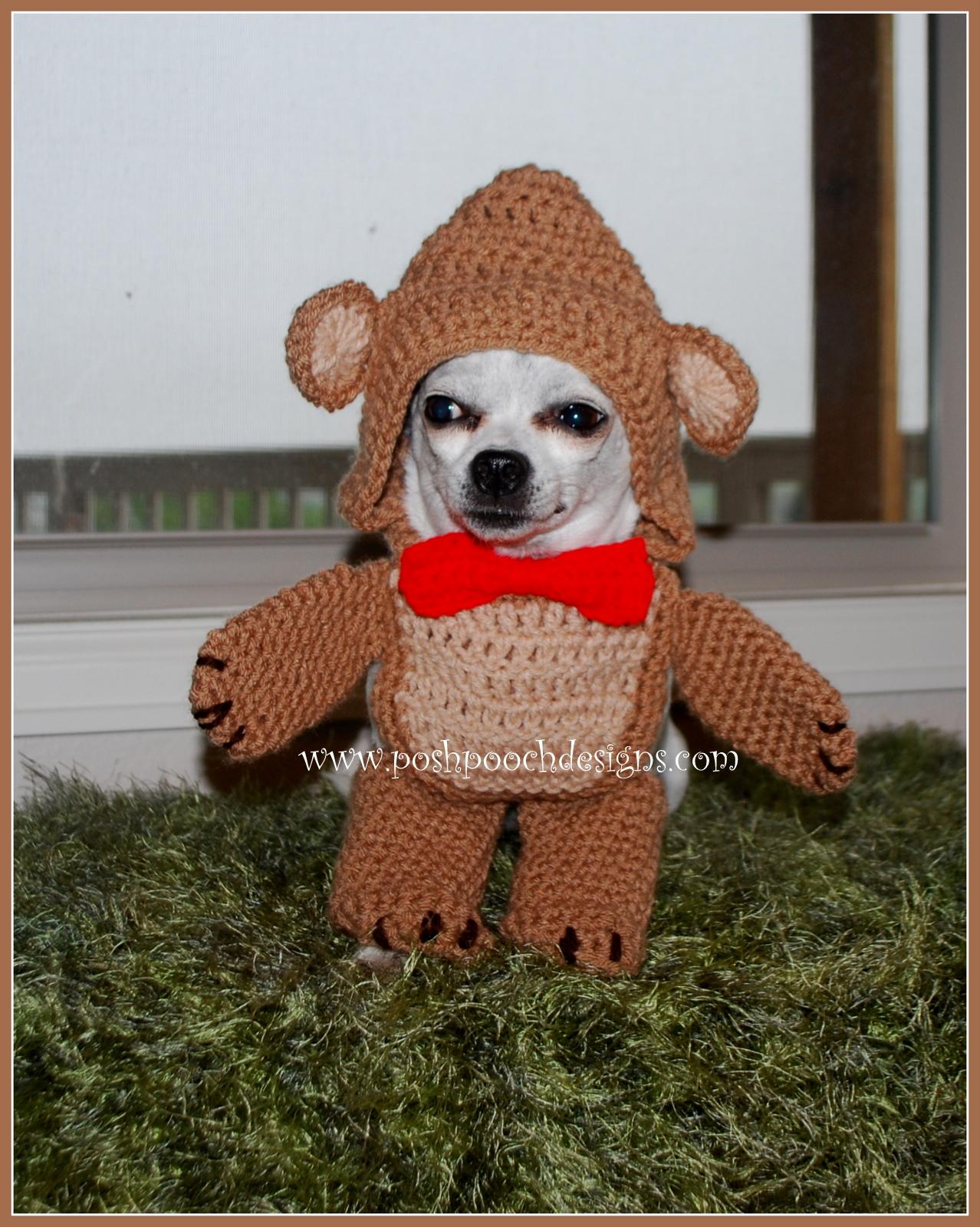 Posh Pooch Designs Dog Clothes: Walking Bear Dog Costume ...