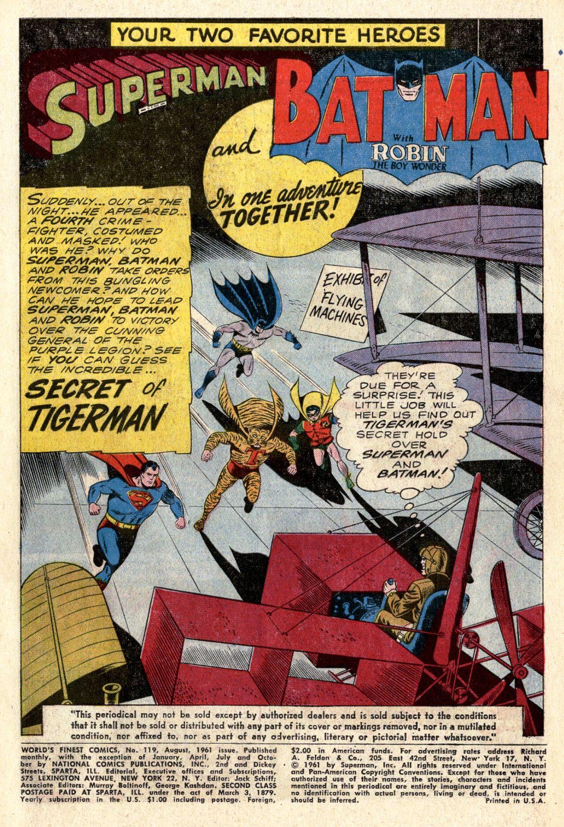 Read online World's Finest Comics comic -  Issue #119 - 3