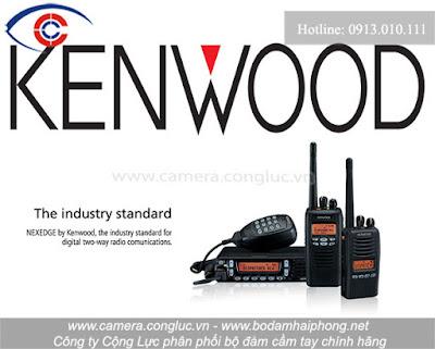 Bộ đàm Kenwood là một trong những sản phẩm tiêu biểu được JCVKENWOOD sản xuất và phân phối trên thị trường.