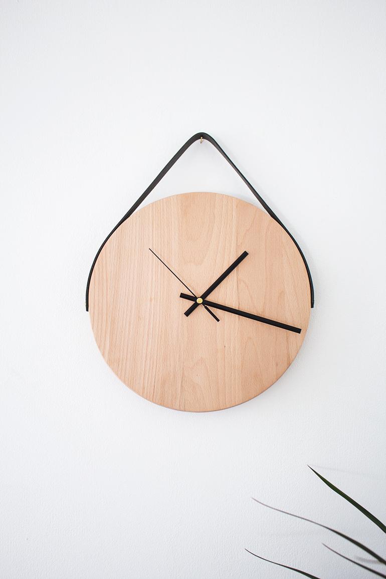 reloj madera DIY