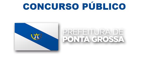 No Estado do Paraná, a Prefeitura de Ponta Grossa comunica a todos novo  Concurso Público que visa contratar 45 profissionais. A validade deste  certame é de ... 93d1e9bcae